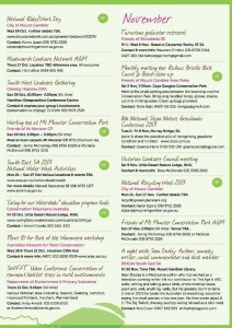 Spring Environmental Events Calendar Page 3