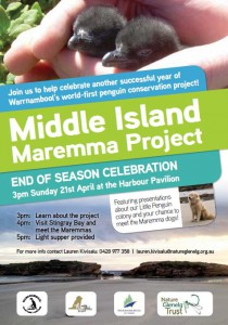 Maremma Project Celebration Poster-Sun 21 Apr 13