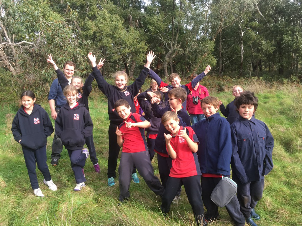 Year 5/6 students from Newbery Park Primary School enjoyed a busy day outdoors.