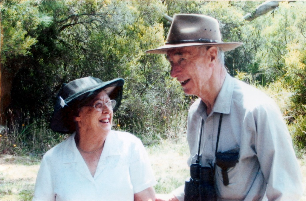 Kate and Bill Moore at Kurrawonga. Photo courtesy of the Moore family.